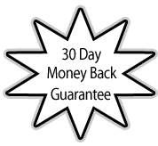 We proudly offer our customers a 30 day money back guarantee on all of our items.  If for any reason you need to return or exchange an item simply contact us.